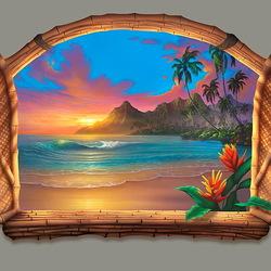 Пазл онлайн: Пляж в раю