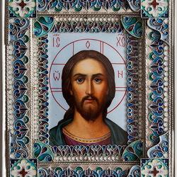 Пазл онлайн: Икона Христос Спаситель