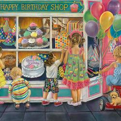 Пазл онлайн: Счастливый День Рождения