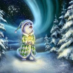 Пазл онлайн: Зимняя сказка