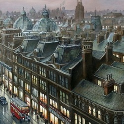 Пазл онлайн: Крыши Манчестера