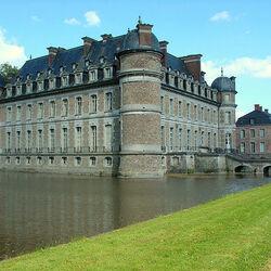 Пазл онлайн: Замок Белей. Бельгия