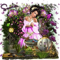 Пазл онлайн: Мечты Золушки