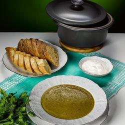 Пазл онлайн: Суп из чечевицы с мидиями