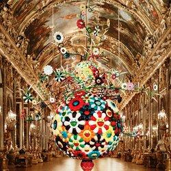 Пазл онлайн: Такаси Мураками эпатирует Версаль