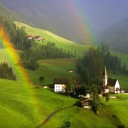 Пазл онлайн: South Tyrol, Австрия