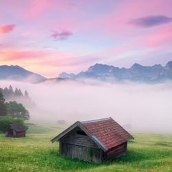 Пазл онлайн: Альпы, Бавария