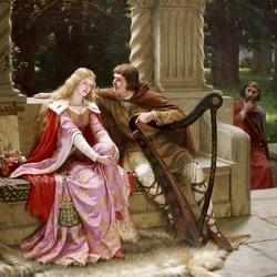 Пазл онлайн: Конец песни.Тристан и Изольда