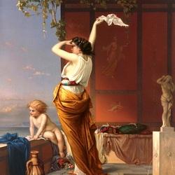 Пазл онлайн: Жители  Помпеи