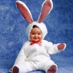 Пазл онлайн: Пасхальный кролик