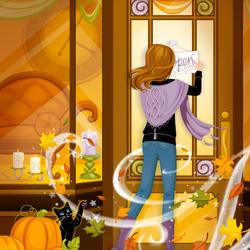 Пазл онлайн: Осенняя магия