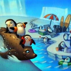 Пазл онлайн: Ледовый пляж