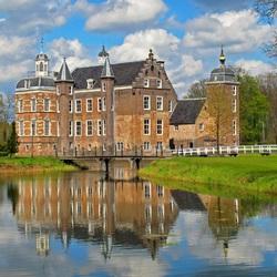 Пазл онлайн: Замок Руурло. Нидерланды