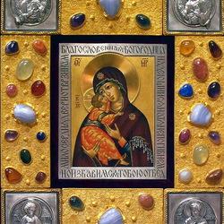 Пазл онлайн: Икона Умиления Божьей Матери