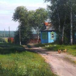 Пазл онлайн: Родной край