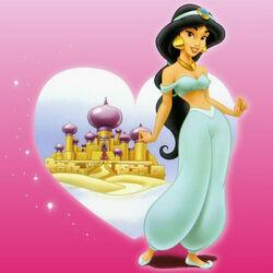Пазл онлайн: Принцесса Жасмин