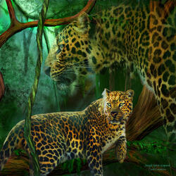 Пазл онлайн: Дух джунглей