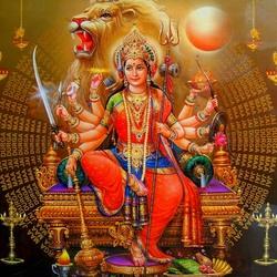 Пазл онлайн: Богиня войны Дурга
