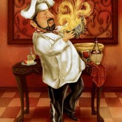 Пазл онлайн: Спагетти