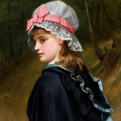 Пазл онлайн: Дочь фермера