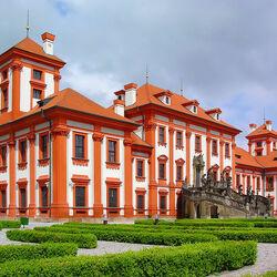 Пазл онлайн: Тройский замок. Прага
