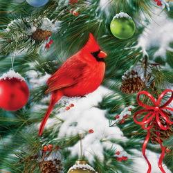 Пазл онлайн: На новогодней ёлке