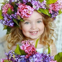 Пазл онлайн: Фея цветов