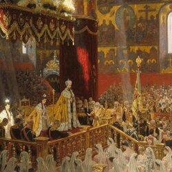 Пазл онлайн: Коронации императора Николая II и императрицы Александры Федоровны