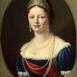 Пазл онлайн: Портрет великой княгини Екатерины Павловны