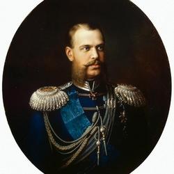 Пазл онлайн: Портрет великого князя цесаревича Александра Александровича