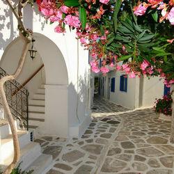 Пазл онлайн: Санторини. Греция