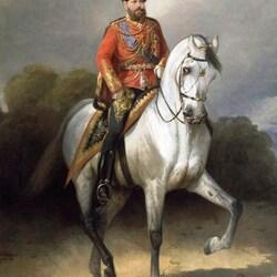 Пазл онлайн: Портрет Александра III
