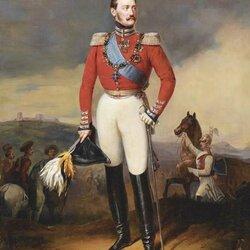 Пазл онлайн: Портрет императора Николая I