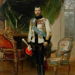 Пазл онлайн: Император Николай II