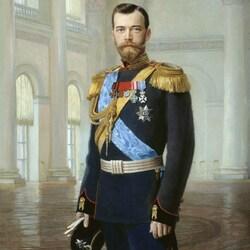 Пазл онлайн: Портрет императора Николая II