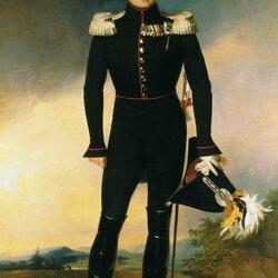 Пазл онлайн: Портрет Императора Александра I