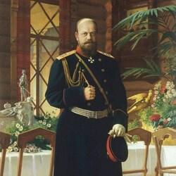 Пазл онлайн: Портрет императора Александра III