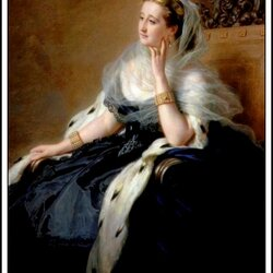 Пазл онлайн: Евгения де Монтихо, императрица Франции