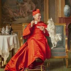 Пазл онлайн: Друг кардинала