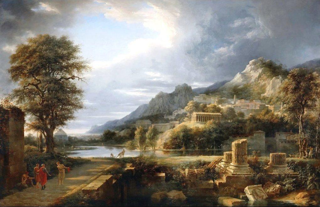 картинка древний мир природа тому рисовая
