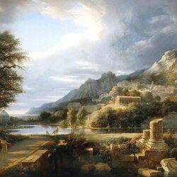 Пазл онлайн: Античный город Агригент