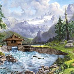 Пазл онлайн: В гармонии с природой