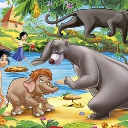 Пазл онлайн: Маугли
