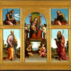 Пазл онлайн: Алтарь из молельни церкви святого Петра в Винколи