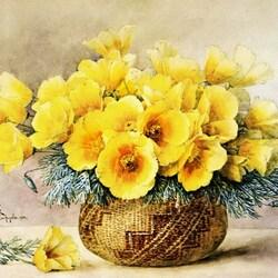 Пазл онлайн: Желтая эшшольция