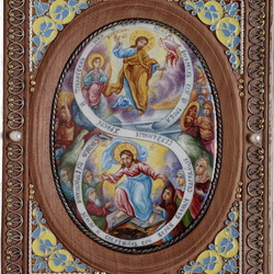 Пазл онлайн: Икона Воскресение и сошествие во ад