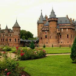 Пазл онлайн: Замок Де Хаар. Нидерланды
