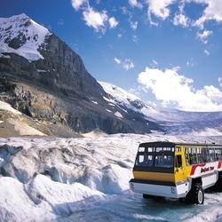 Пазл онлайн: Ледяные дороги Канады