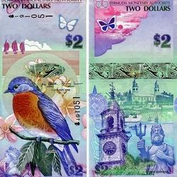 Пазл онлайн: Доллары Бермудских островов