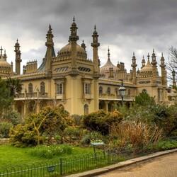 Пазл онлайн: Королевский павильон, Брайтон